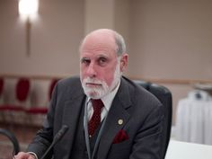 Web pioneer Vint Cerf envisions a futuristic Internet where people communicate with aliens