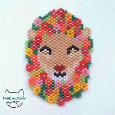 Lion fleuri (Pauline_Eline)