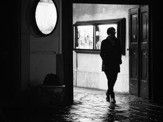 on a rainy evening by fotoschalk