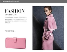 Bostanten Fashion Women Wallets Genuine Leather Wallet Zipper Day Clutch Purse Wristlet Portefeuille Carteira Feminina Monedero