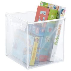 Invention meets necessity with our clever, multi-sized Folding Mesh Cubes. They conveniently fold flat when not in use. Store and organize toys, blankets, clothes, shoes - just about anything that needs to be corralled.