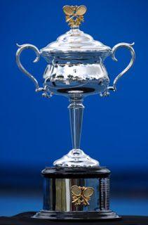 Australian Open Women's Tennis trophy