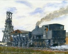 Hunslet-built Austerity at Prince of Wales Colliery / Michael Milner