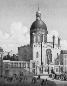 Cologne Synagogue-Glockengasse-Altes Bild1 - Geschichte der Stadt Köln – Wikipedia