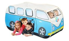 Happy Camper Deluxe Giant Play Tent-Tunnel