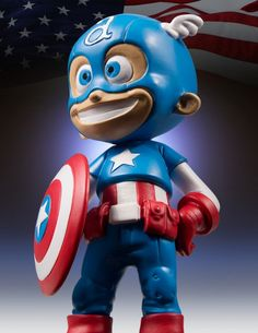 Animated Captain America Statue By Gentle Giant Ltd.