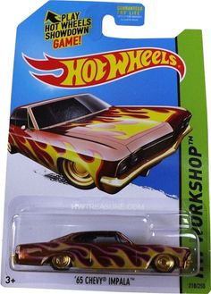 Chevy Impala Hot Wheels 2014 Super Treasure Hunt (N case) 65 Chevy Impala, Chevrolet Chevelle, Hot Wheels Treasure Hunt, Super Treasure Hunt, Custom Hot Wheels, Hot Wheels Cars, Weird Cars, Crazy Cars, Voitures Hot Wheels