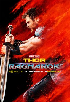 Thor: Ragnarok Character Posters - Thor