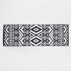 Black and white tribal print rug - RUGS - BEDROOM | Zara Home United States of America