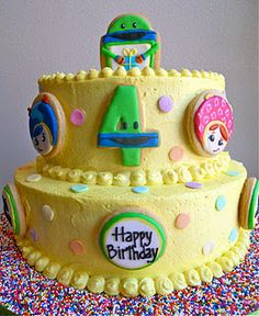 Team Umizoomi Birthday Cake... my daughter would LOVE this!!