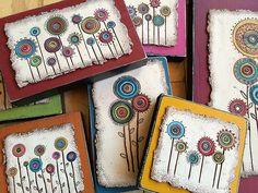 IMG_1599   Lollipop Flowers- polymer/wood   Bull's Eye Studio   Flickr