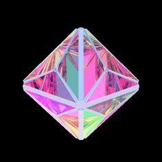君の横顔 #gif #3d #geometric
