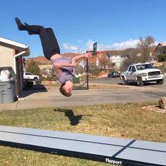 Gymnastics Moves, Gymnastics Equipment, Prank Videos, Acro, Parkour, Track, Dance, Amazing, Sports