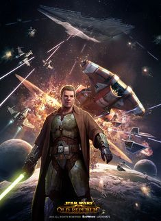 Star Wars: The Old Republic and the Knights of the Fallen Empire The Old Republic, Star Wars Rpg, Star Wars Jedi, Star Wars The Old, Comic Manga, Star Wars Images, Jedi Knight, Star Wars Wallpaper, Star Wars Poster