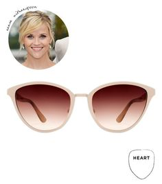 Sunglasses for a heart-shaped face