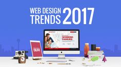 Wondering what web design trends we'll see in 2017? Read on to see what to keep an eye out for this year. #WebDesign