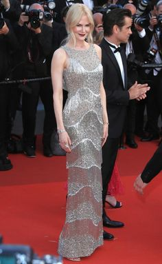 Nicole Kidman in Michael Kors at the premiere of The Beguiled, Cannes 2017