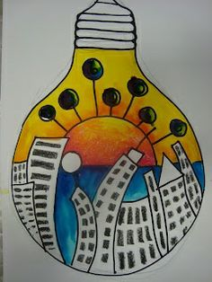 light bulb classroom decorations | Once upon an Art Room: Surrealism | cool art ideas