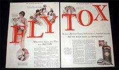 1927-OLD-MAGAZINE-PRINT-AD-FLYTOX-FOR-FLIES-A-MODERN-HOUSEHOLD-NECESSITY-ART