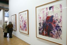 Ahead of his time? Cy Twombly's abstracts are simply inspiring.