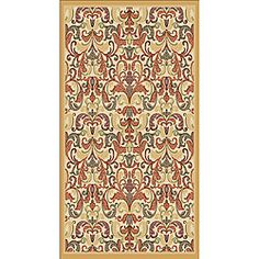 @Overstock - Add a warm luxurious feel to your home decor with this elegant oriental patterned rug. Beautiful gold hues and a durable construction highlight this rug.http://www.overstock.com/Home-Garden/Woven-Viscose-Agra-Gold-Area-Rug-5-x-7/6459586/product.html?CID=214117 $95.09
