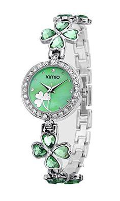 SAMGU Edelstahl Armband Leaf Clover Luxus Lady Armbanduhren 2014 New Fashion Frauen Kleid Uhren Farbe Mehrfarbig - http://kameras-kaufen.de/samgu/samgu-edelstahl-armband-leaf-clover-luxus-lady