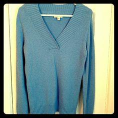 Lilac Sweater Soft V Neck Lilac Sweater St. John's Bay Sweaters V-Necks
