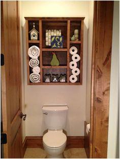 super Ideas diy bathroom cabinet over toilet storage ideas