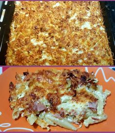 Cookbook Recipes, Dessert Recipes, Cooking Recipes, Desserts, Orzo, Greek Recipes, Food For Thought, Lasagna, Recipies