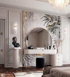Modern Luxury Bedroom, Luxury Bedroom Design, Home Room Design, Dream Home Design, Luxurious Bedrooms, Luxury Interior, Home Interior Design, Living Room Designs, Tiny Bedrooms