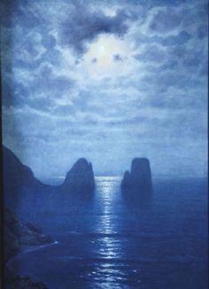 Capri by Roman Bratkowski (Polish 1869-1954)