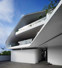 Futuristic Architecture, Ninety 7 @ Siglap by Aamer Architects