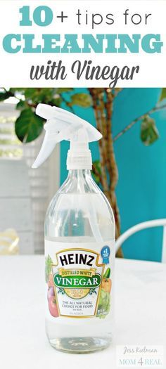 Vinegar is my favorite cleaner - so many amazing uses!