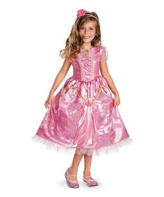 Loving this Disney Princess Pink Aurora Sparkle Deluxe Dress-Up Set - Toddler on #zulily! #zulilyfinds
