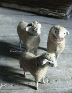 This year I held a few of these back for the upcoming Easter and Spring decorating.Choose from 3 different sheep.2 larger    27� each1 smaller  25�