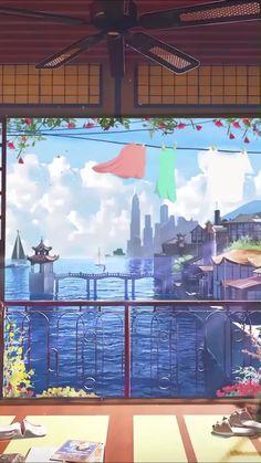 Aesthetic Desktop Wallpaper, Anime Wallpaper Live, Anime Scenery Wallpaper, Galaxy Wallpaper, Anime Backgrounds Wallpapers, Live Wallpapers, Animes Wallpapers, Beautiful Nature Scenes, Beautiful Gif
