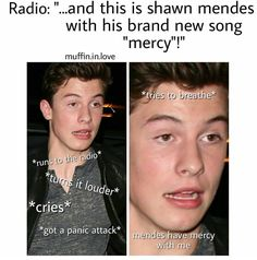 Same Shawn's face describes that felling freaking perfectly #LifeOfAFangirl