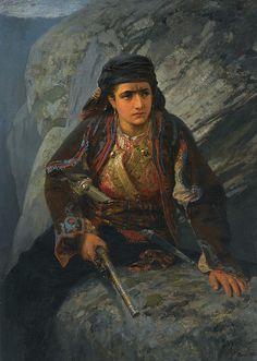 The Lookout  Vasily Dmitrievich Polenov