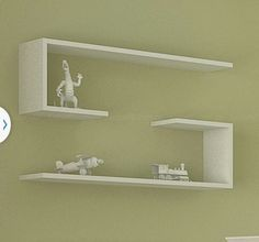 Plateleira em j Bookshelf Design, Wall Shelves Design, Home Furniture, Furniture Design, Niche Design, Floating Shelves Bedroom, Corner Wall Shelves, Regal Design, Wall Decor
