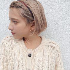 ミニマムボブ×ハイトーンベージュ in 2020 Cut My Hair, Hair Cuts, New Hair, Kawaii Hairstyles, Hairstyles Haircuts, Short Hair Images, Short Hair Styles, Hair And Nails, Asian Beauty