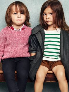 56d419cfa Stripes, light knits relaxed outerwear for the summer - the latest Burberry  childrenswear S/