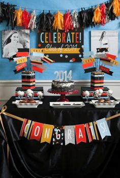 Check out these great graduation party ideas and inspirations!