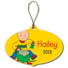 The Official PBS KIDS Shop | Caillou Gift Ornament - Christmas - Holiday &…