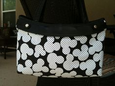 Mickey Mouse Black and White Thirty One Purse by ShellyJayneCovers, $12.00