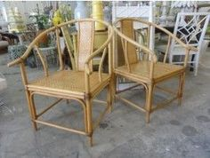 MING CHAIRS | Rattan Asian Ming Style Chairs