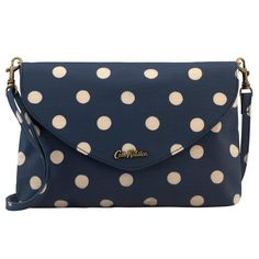 Button Spot Embossed Envelope Clutch | Cath Kidston | Cath Kidston Bags, Envelope Clutch, Girly Things, Girly Stuff, Online Shopping Stores, Beautiful Bags, Louis Vuitton Monogram, Coin Purse, Fashion Accessories