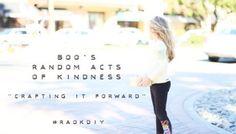 Random Acts of Kindness (A Digital Short)