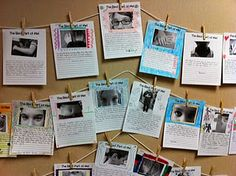"""""""Best Part of Me"""" writing -  This book is amazing because Wendy Ewald (who is a famous photographer) took pictures of what students thought were their best features. Then the students in this book wrote poems about their favorite features and explained why this was the most 'unique and special' part of them.  We could focus specifically on our descriptive language and vivid verbs."""