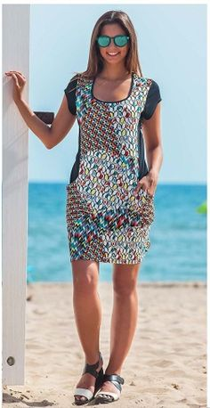 Perfumería El Ajuar - Ficha de producto - Vestido verano Vania Multicolor - Homewear - Vestido mujer verano