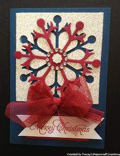 Tracey's Papercraft Creations: Special Order - Christmas Cards
